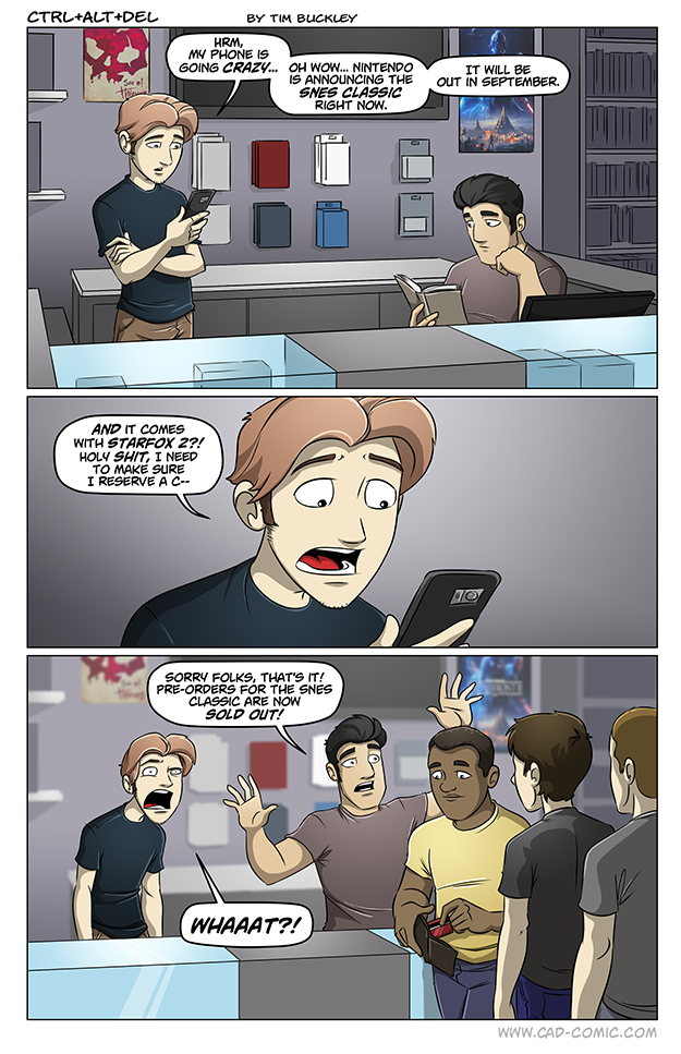 Ctrl+Alt+Del: Yet Another Awesome Gaming Webcomic
