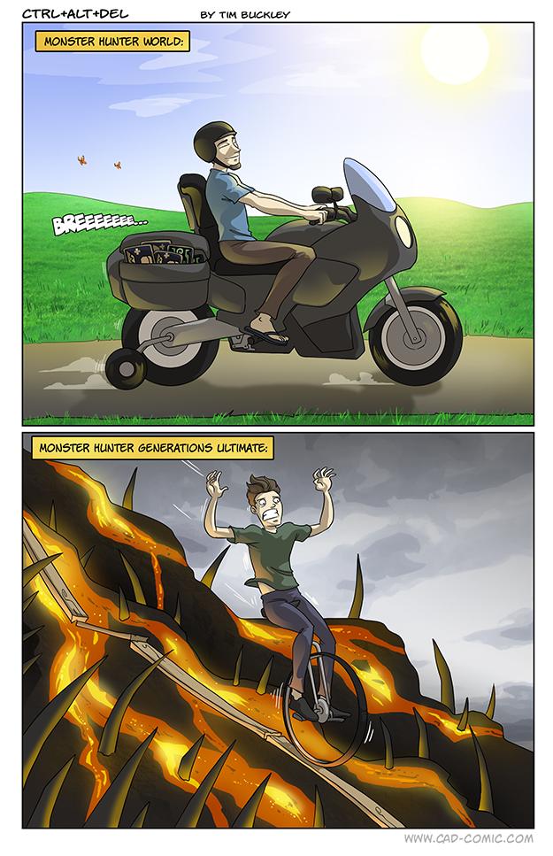 New Hunters Be Warned - Ctrl+Alt+Del Comic Ctrl+Alt+Del